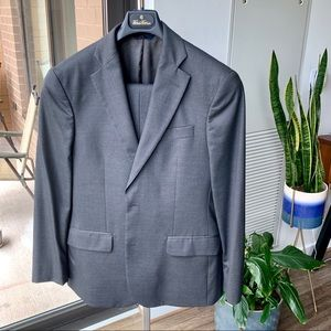 Brooks Brother's Charcoal Suit